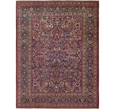 8' 10 x 11' Mashad Persian Rug