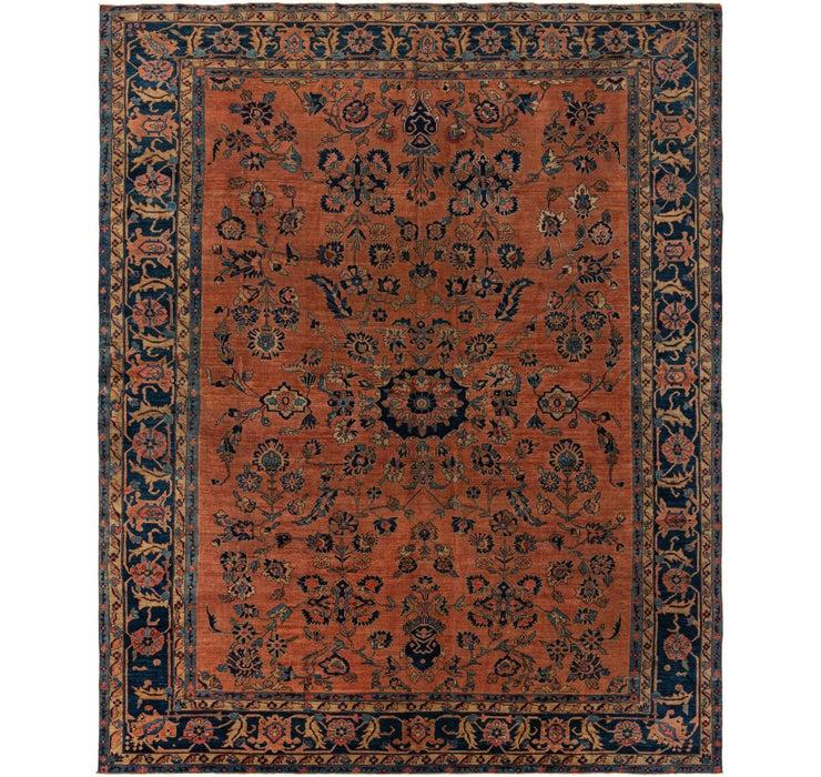 310cm x 390cm Sarough Persian Rug