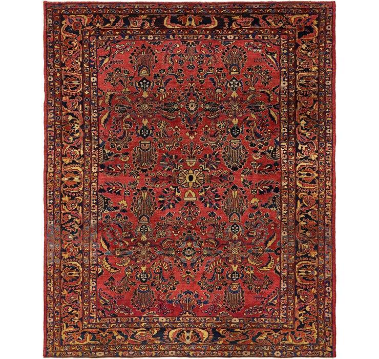 9' 2 x 11' 2 Liliyan Persian Rug