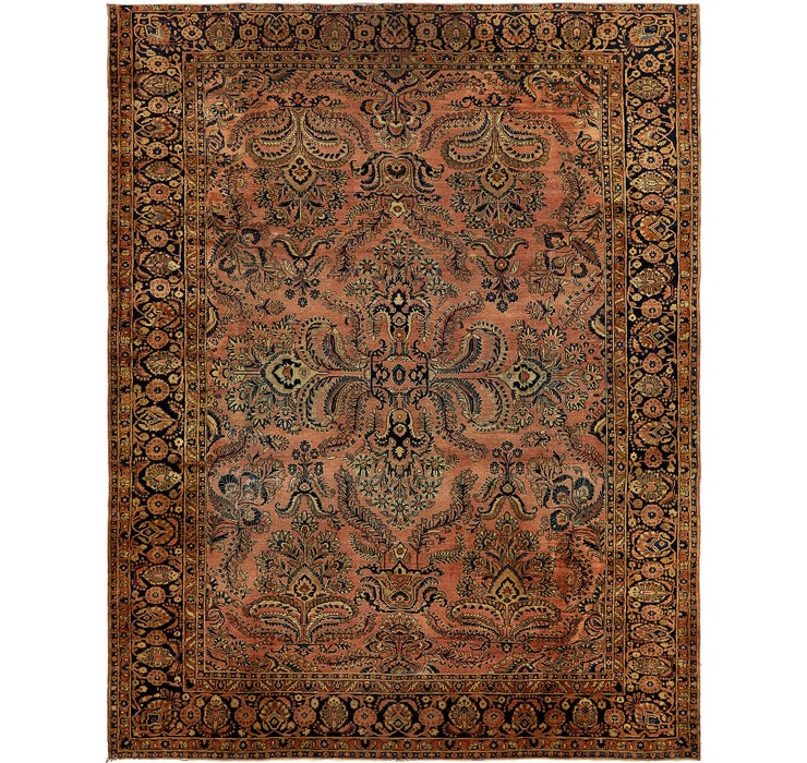285cm x 365cm Sarough Persian Rug