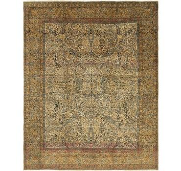 7' 9 x 10' Kerman Persian Rug main image