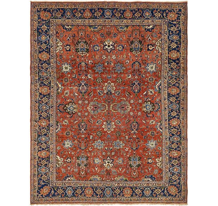 262cm x 343cm Heriz Persian Rug