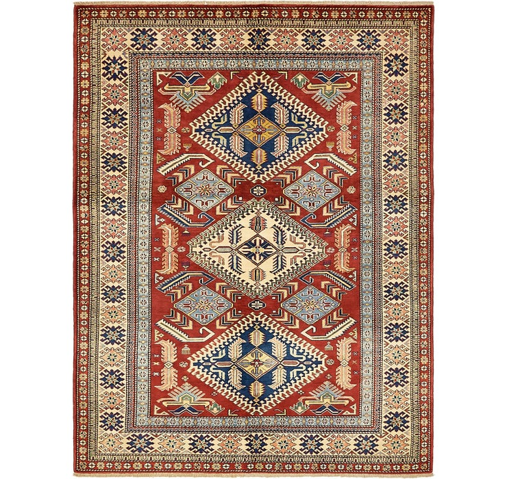 147cm x 198cm Kazak Oriental Rug