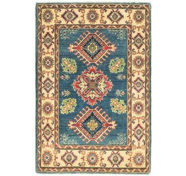 Image of 3' x 4' 4 Kazak Rug