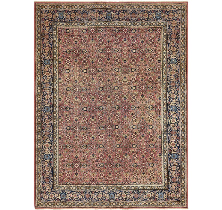 8' 6 x 11' 4 Sarough Persian Rug