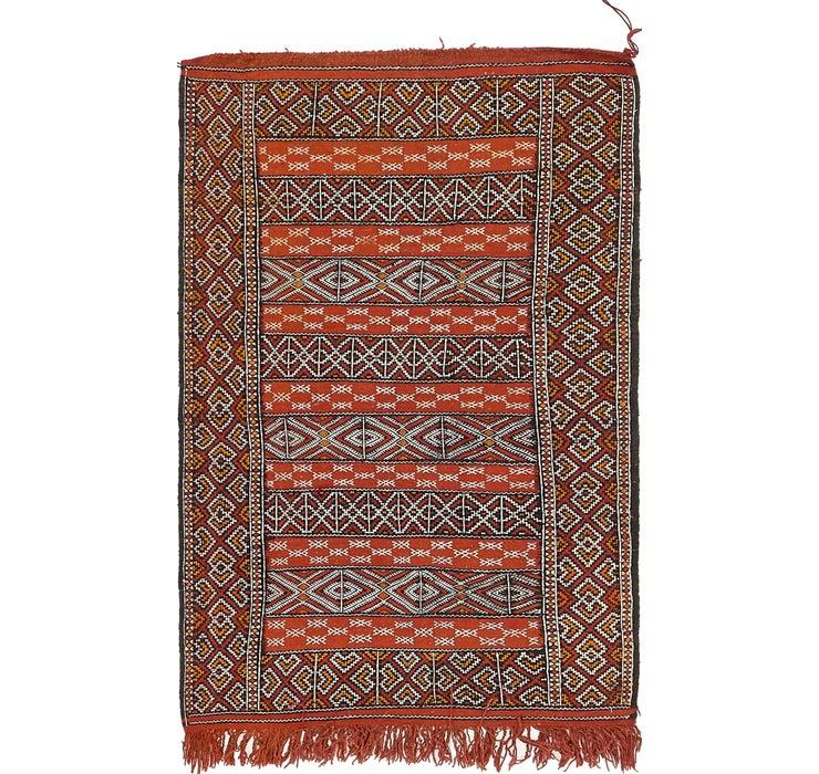 100cm x 160cm Moroccan Oriental Rug