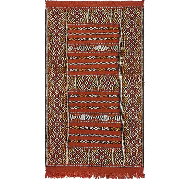 80cm x 147cm Moroccan Oriental Rug