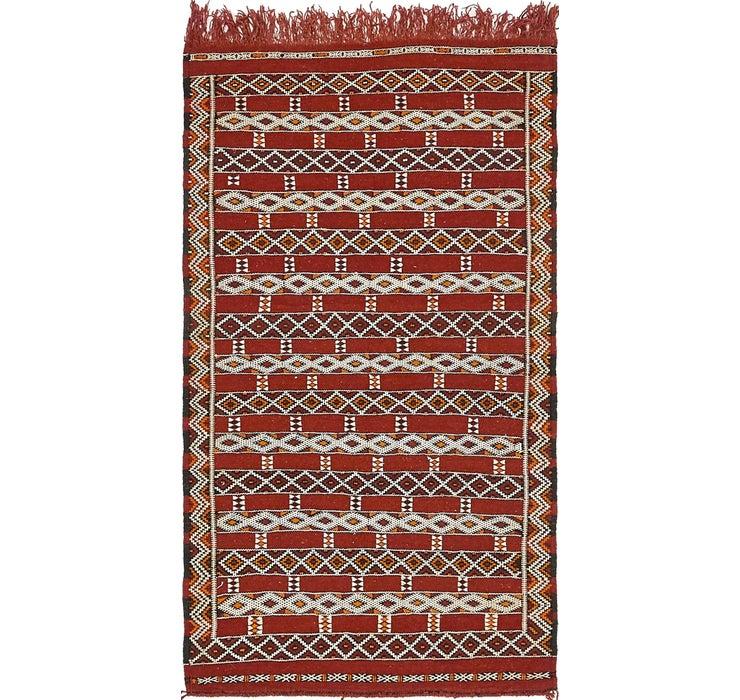 2' 10 x 5' 3 Moroccan Oriental Rug