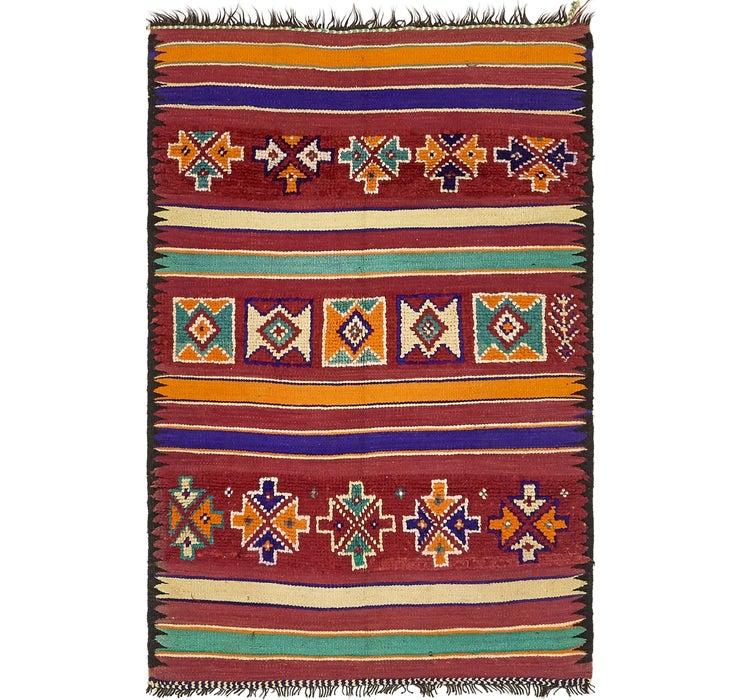 3' 9 x 5' 10 Moroccan Rug