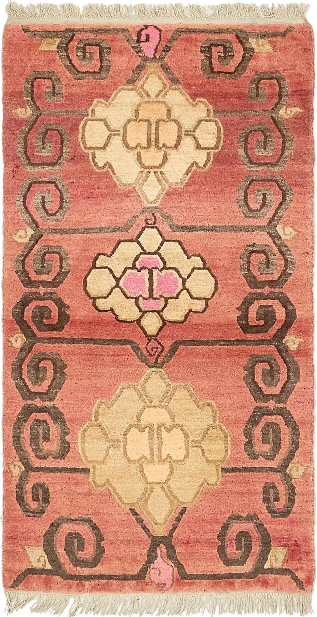 2' 7 x 5' Antique Finish Rug main image