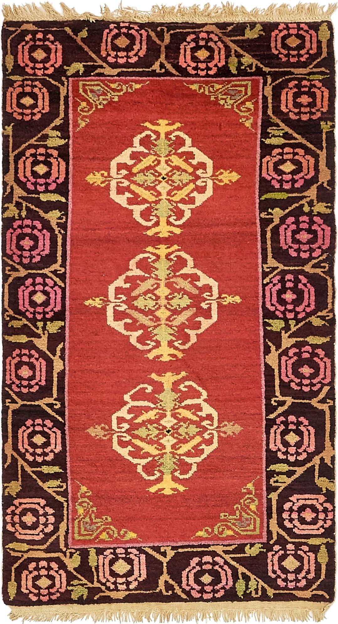 2' 10 x 5' 3 Antique Finish Rug main image