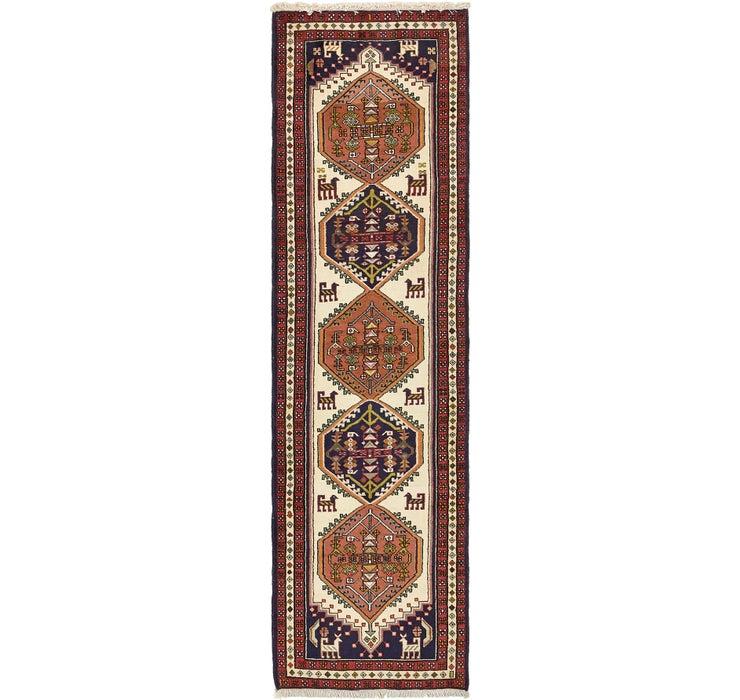 80cm x 292cm Ardabil Persian Runner ...
