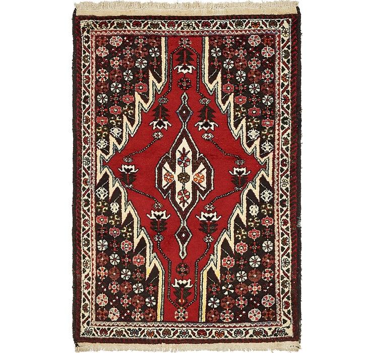 107cm x 157cm Mazlaghan Persian Rug