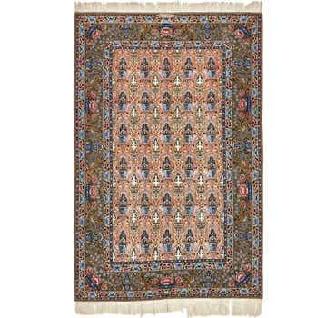 5' 3 x 8' 2 Isfahan Persian Rug