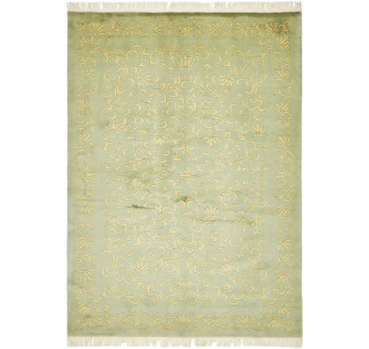 Image of 4' 8 x 6' 7 Nepal Oriental Rug