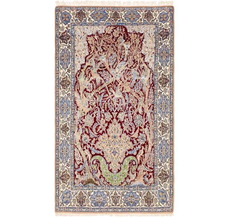 5' 3 x 9' 5 Nain Persian Rug