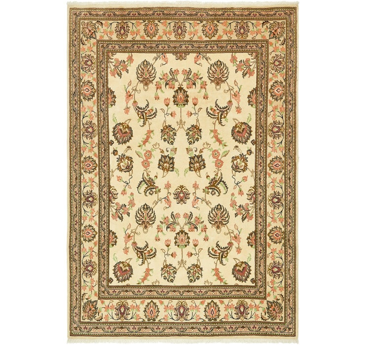 Image of 203cm x 295cm Yazd Persian Rug