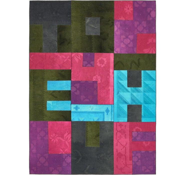 7' 3 x 10' Patchwork Rug
