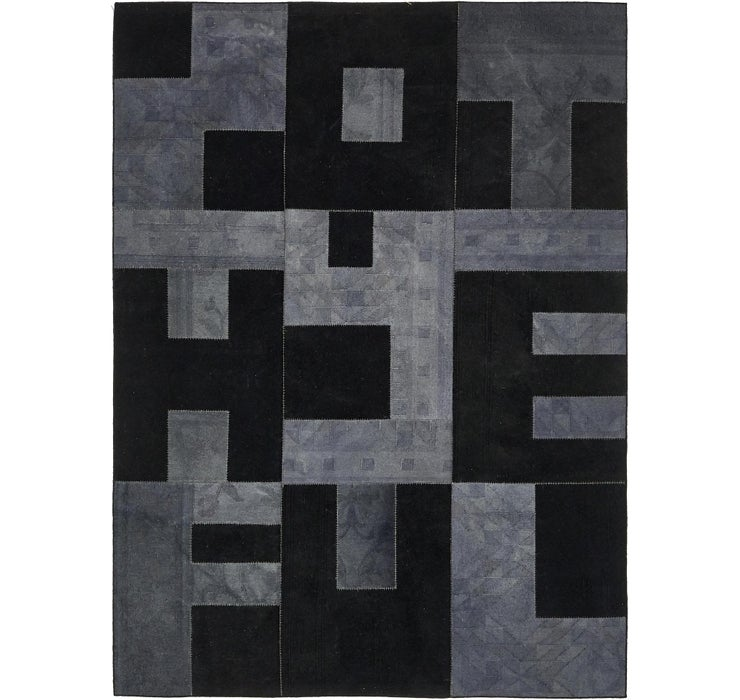 Image of 7' 3 x 10' Patchwork Rug