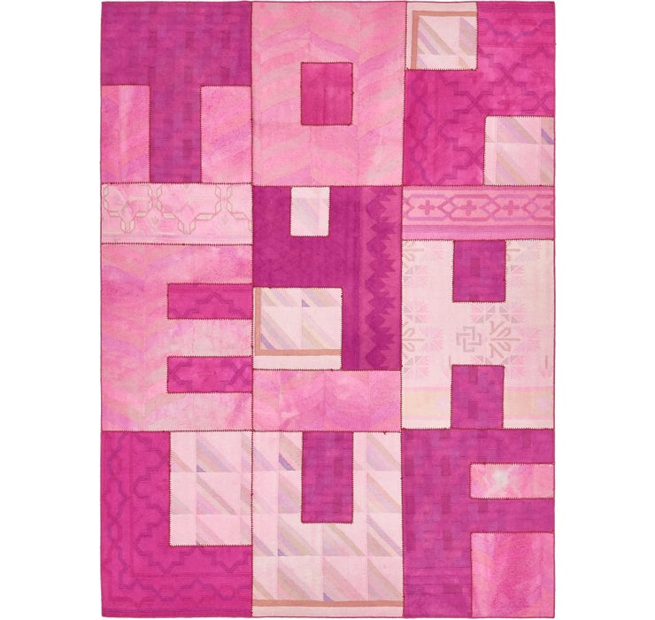 Image of 225cm x 305cm Patchwork Rug