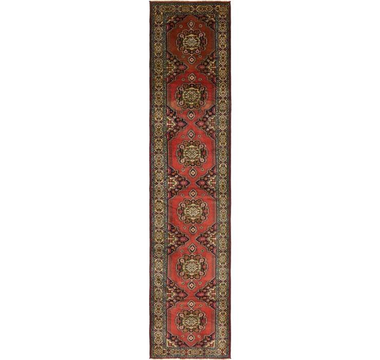 85cm x 405cm Ardabil Persian Rug