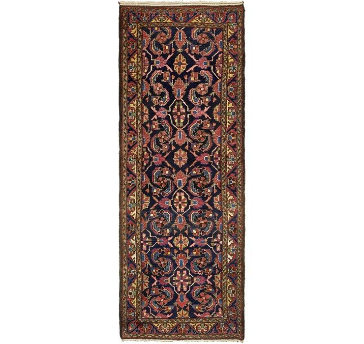 4' 3 x 10' Mahal Persian Runner Rug
