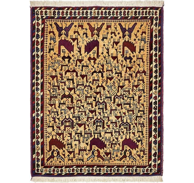 3' 8 x 4' 9 Sirjan Persian Rug