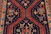 4' x 12' 5 Shiraz Persian Runner Rug thumbnail