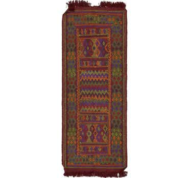 Image of 3' 6 x 9' 2 Moroccan Runner Rug