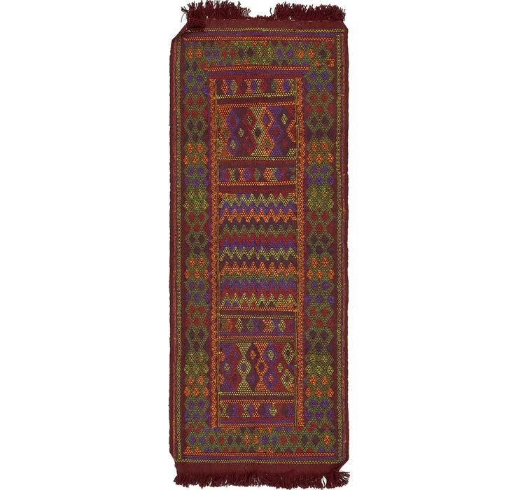 Image of 3' 6 x 9' 2 Moroccan Runner Rug