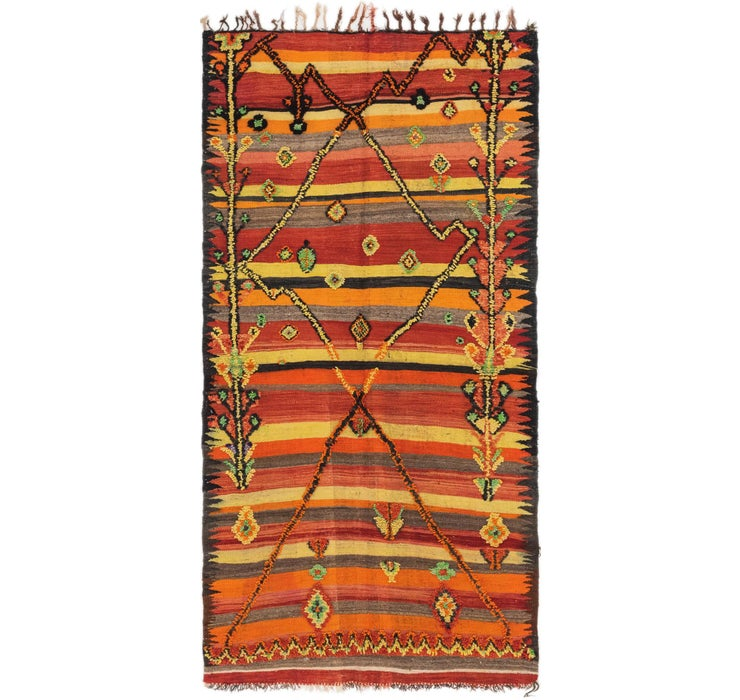 140cm x 282cm Moroccan Rug