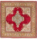 8' x 8' 6 Sarough Oriental Square Rug thumbnail