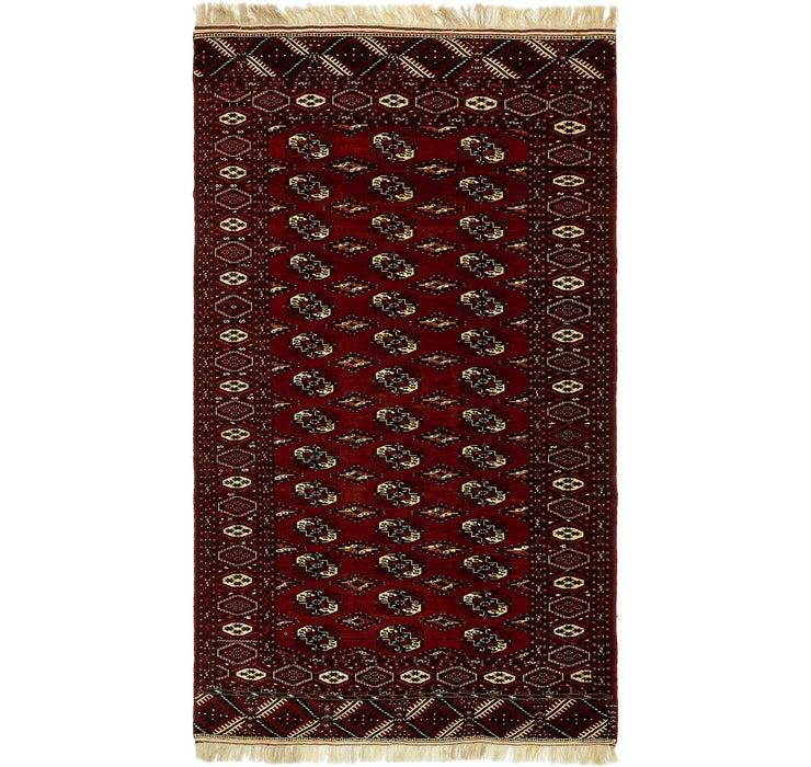 198cm x 343cm Torkaman Persian Rug