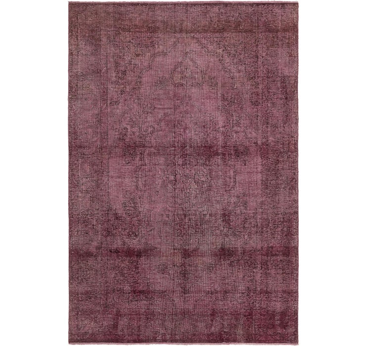 6' 3 x 9' 4 Ultra Vintage Persian Rug