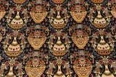 4' 9 x 6' 6 Qom Persian Rug thumbnail