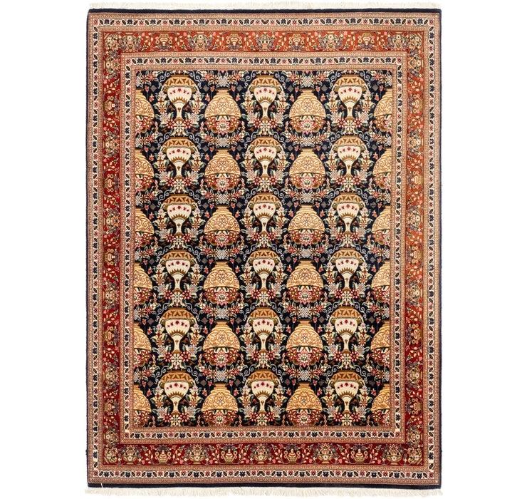 145cm x 198cm Qom Persian Rug