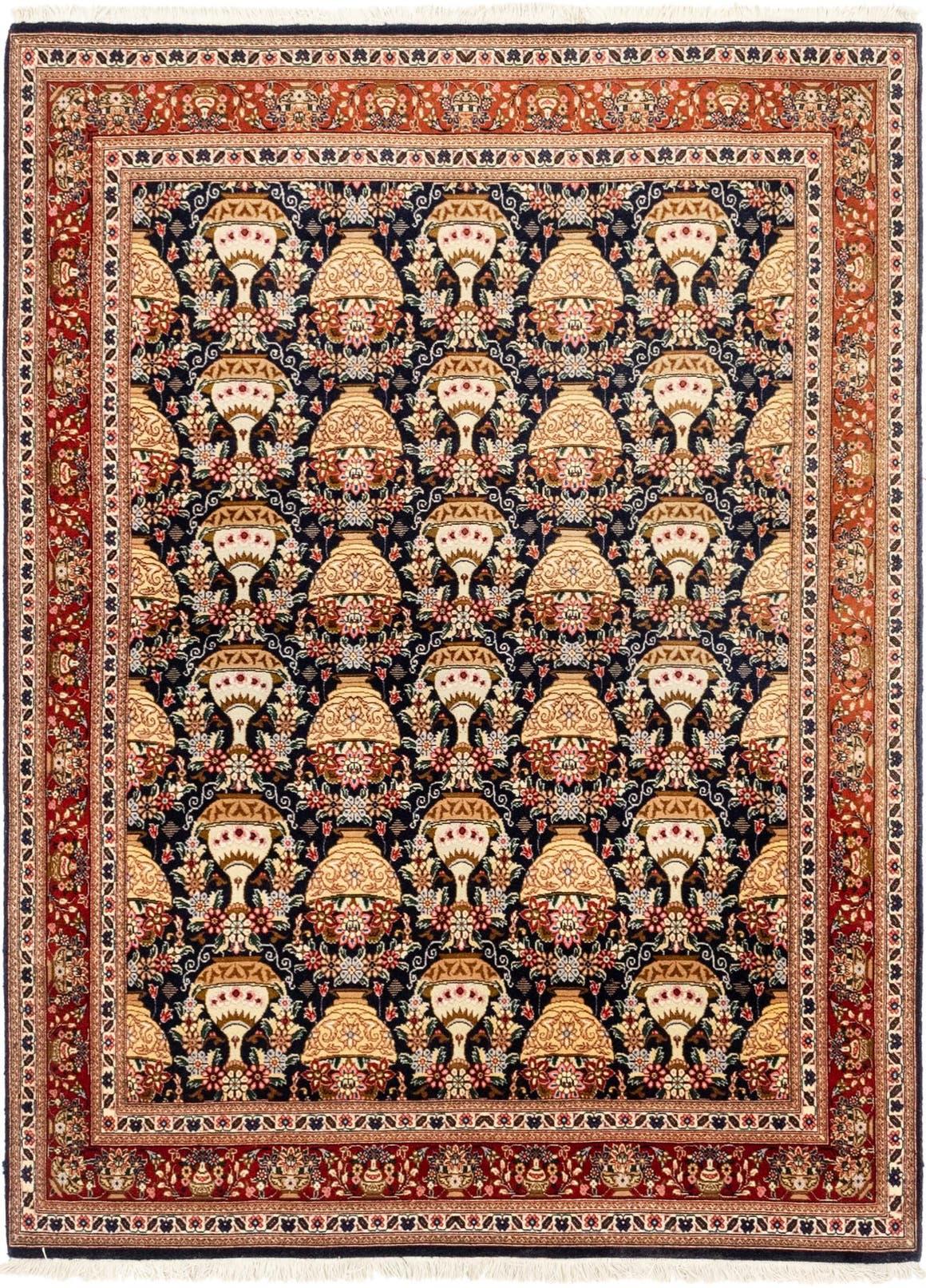 4' 9 x 6' 6 Qom Persian Rug main image