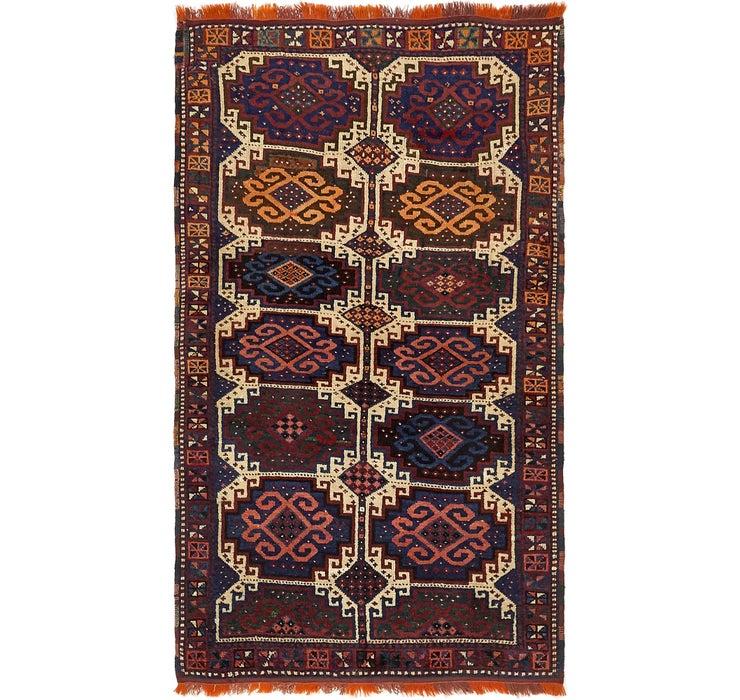 3' 10 x 6' 7 Shiraz Persian Rug