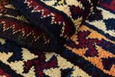 4' 3 x 7' Shiraz Persian Rug thumbnail