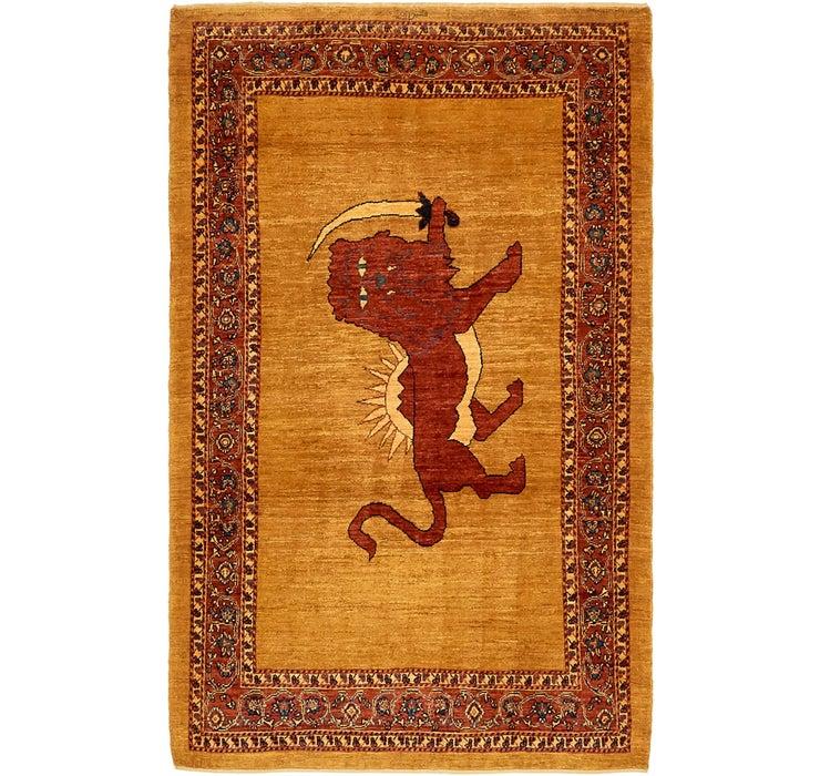 117cm x 195cm Ghashghaei Persian Rug