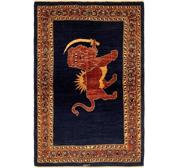 112cm x 173cm Ghashghaei Persian Rug