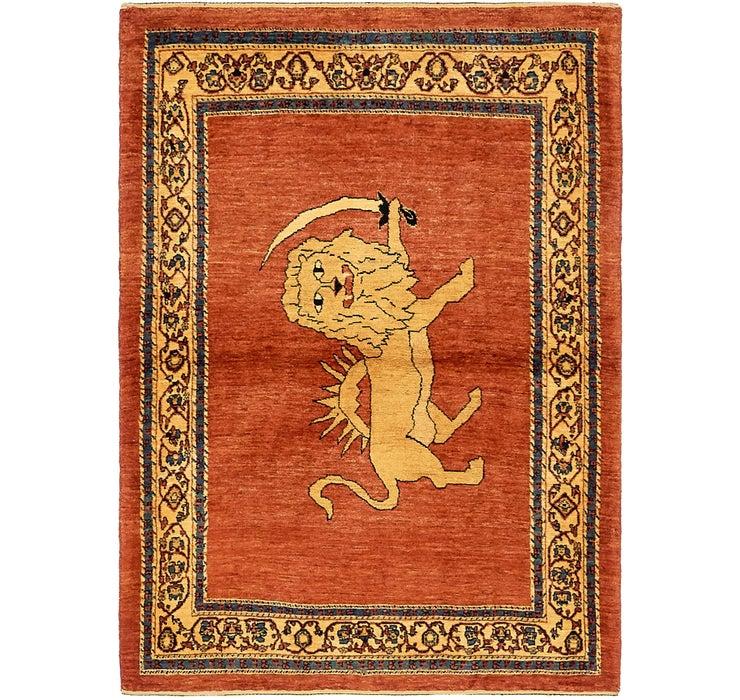 117cm x 163cm Ghashghaei Persian Rug