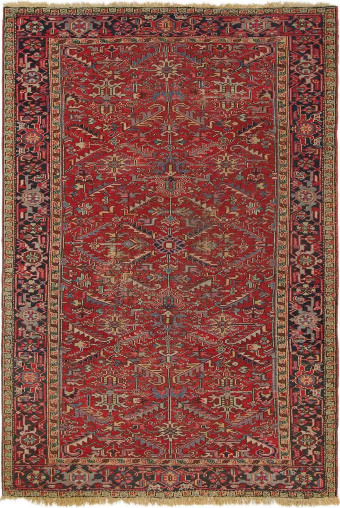 7' 7 x 11' Heriz Persian Rug main image