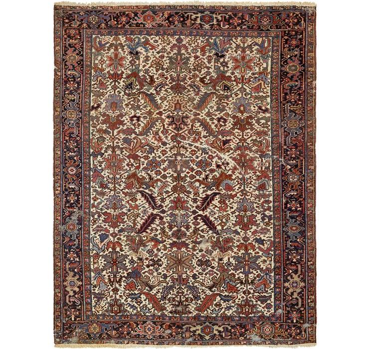 Image of 250cm x 328cm Heriz Persian Rug