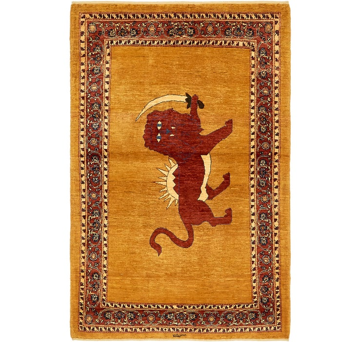 115cm x 183cm Ghashghaei Persian Rug