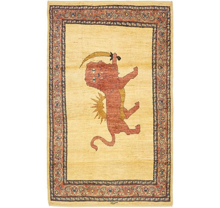 107cm x 183cm Ghashghaei Persian Rug