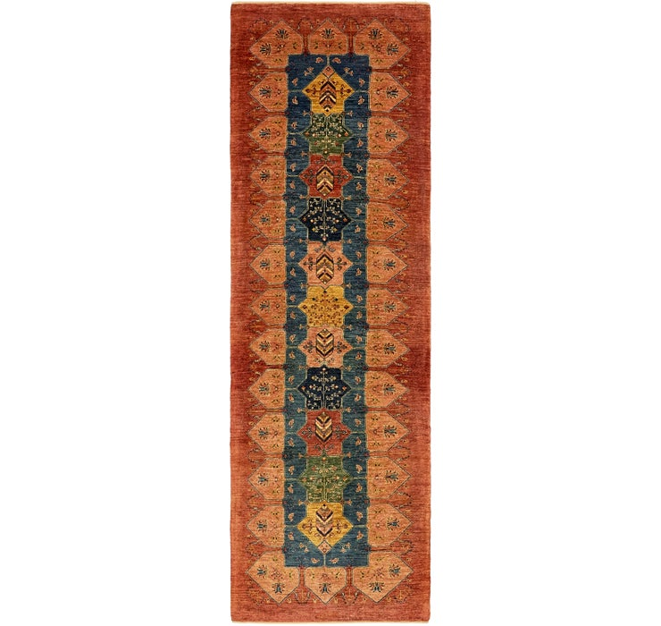 90cm x 310cm Ghashghaei Persian Runn...