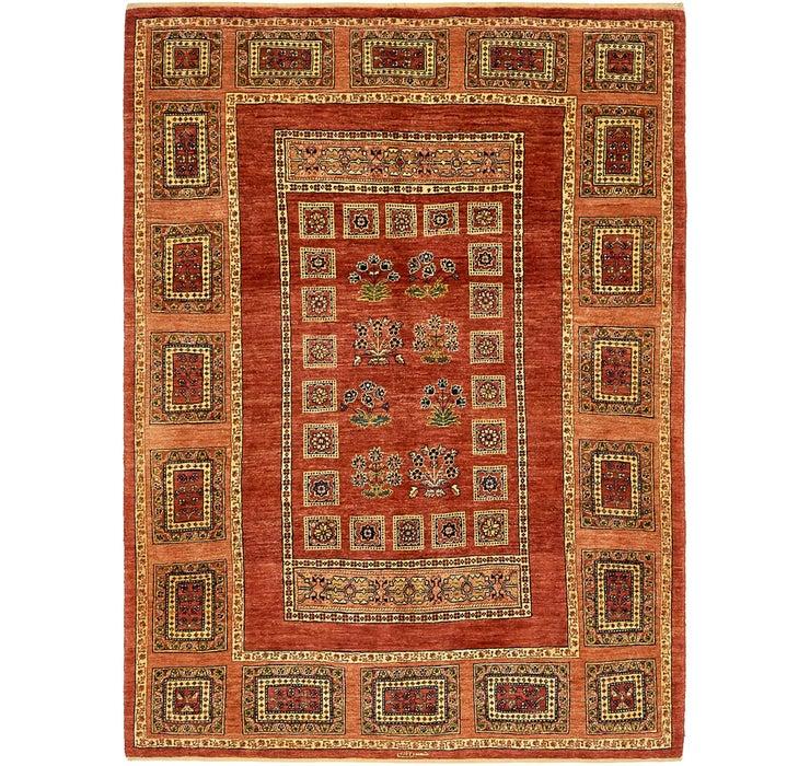 147cm x 205cm Ghashghaei Persian Rug