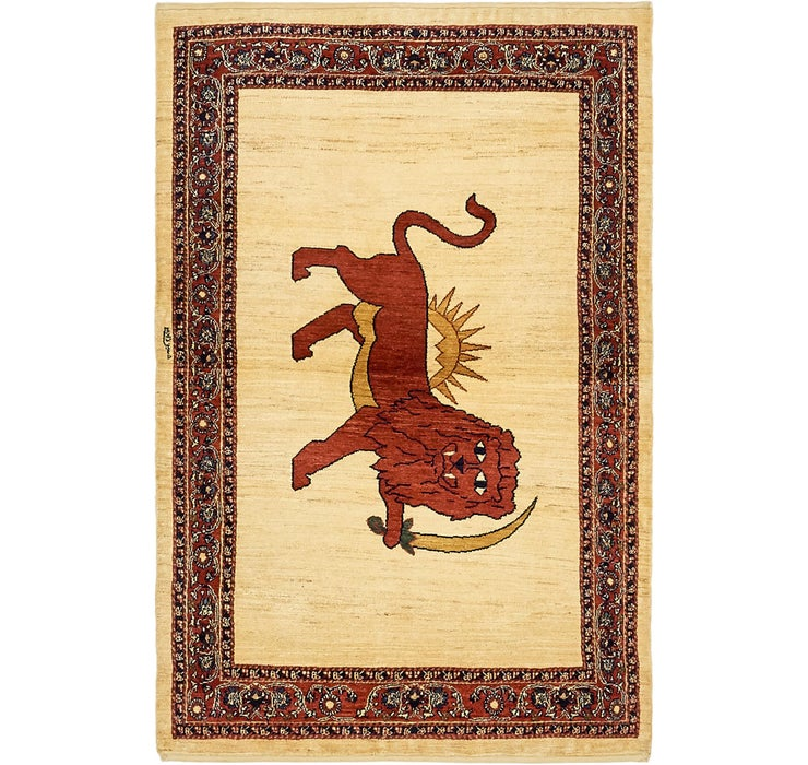 110cm x 195cm Ghashghaei Persian Rug