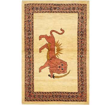 3' 5 x 5' 7 Ghashghaei Persian Rug